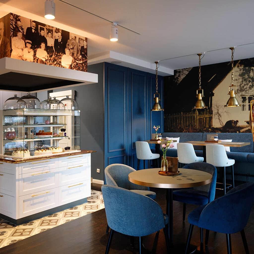 Café Vierkandt Räumlichkeiten