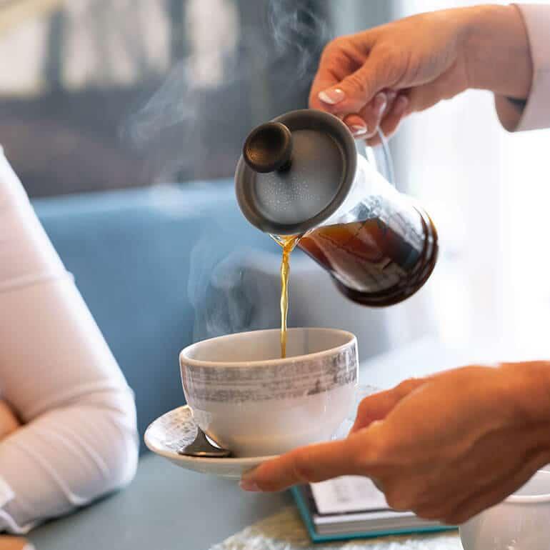 Café Vierkandt Kaffee