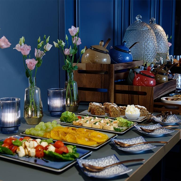 Café Vierkandt Frühstücksbuffet